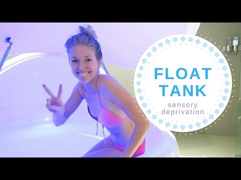 I Tried Sensory Deprivation Therapy in a FLOAT TANK