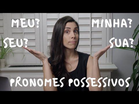 Portuguese for Beginners: POSSESSIVE PRONOUNS  Speaking Brazilian