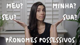 Baixar Portuguese for Beginners: POSSESSIVE PRONOUNS | Speaking Brazilian