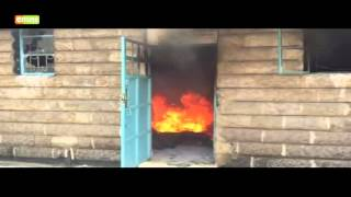 UON students burn down SONU offices in protests