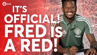 OFFICIAL: FRED UNVEILED BY MANCHESTER UNITED!