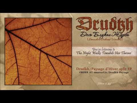 Drudkh - The Night Walks Towards Her Throne (official premiere)