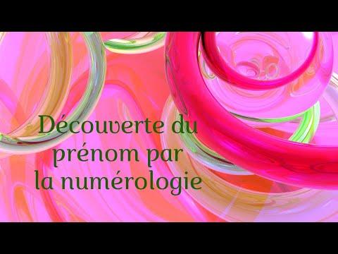 03   Numérologie : Découverte Du Prénom Par Virginie HUBERT
