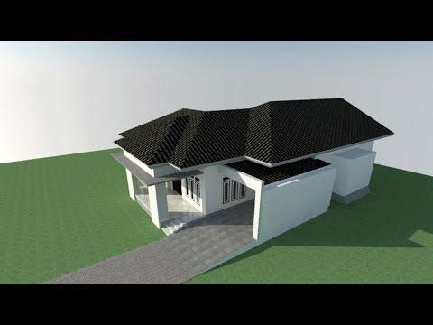 Model Atap Rumah Minimalis Aa Eps09 Youtube