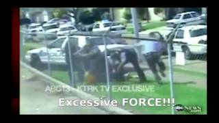 Police Brutality, Cop Kills Dog, Police beat innocents, Highway Beatdown