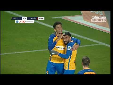 Βίντεο αγώνα ΑΠΟΕΛ 4-0 ΑΛΚΗ