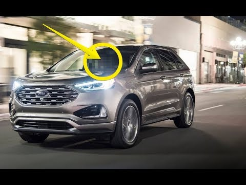 2019 ford edge titanium exterior and interior walkaround. Black Bedroom Furniture Sets. Home Design Ideas