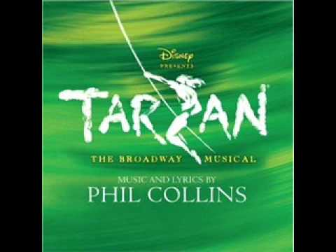 7. Tarzan on Broadway Soundtrack - Sure as Sun Turns to Moon