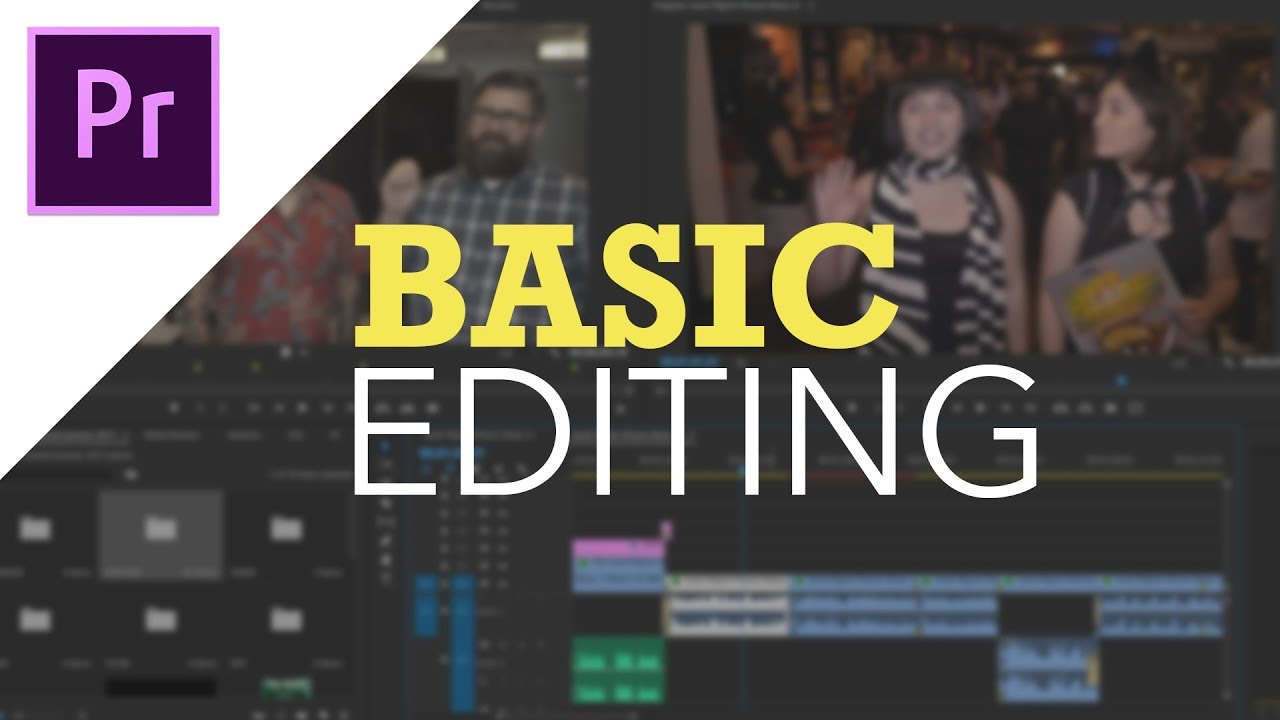Adobe Premiere Pro CC – Basic Editing for Beginners