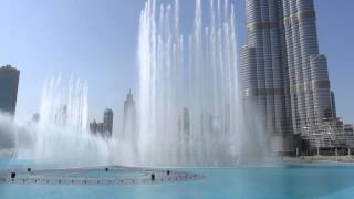 The Dubai Fountains, a maior fonte de águas coreografadas do mundo