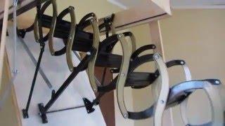 Чердачная лестница Оман НT Oman nt(Видеообзор чердачной лестницы сходи на горище Оман НT Oman nt OMAN Nozycowe Оман ножична.Материал металл. Максимальн..., 2016-02-24T10:18:19.000Z)