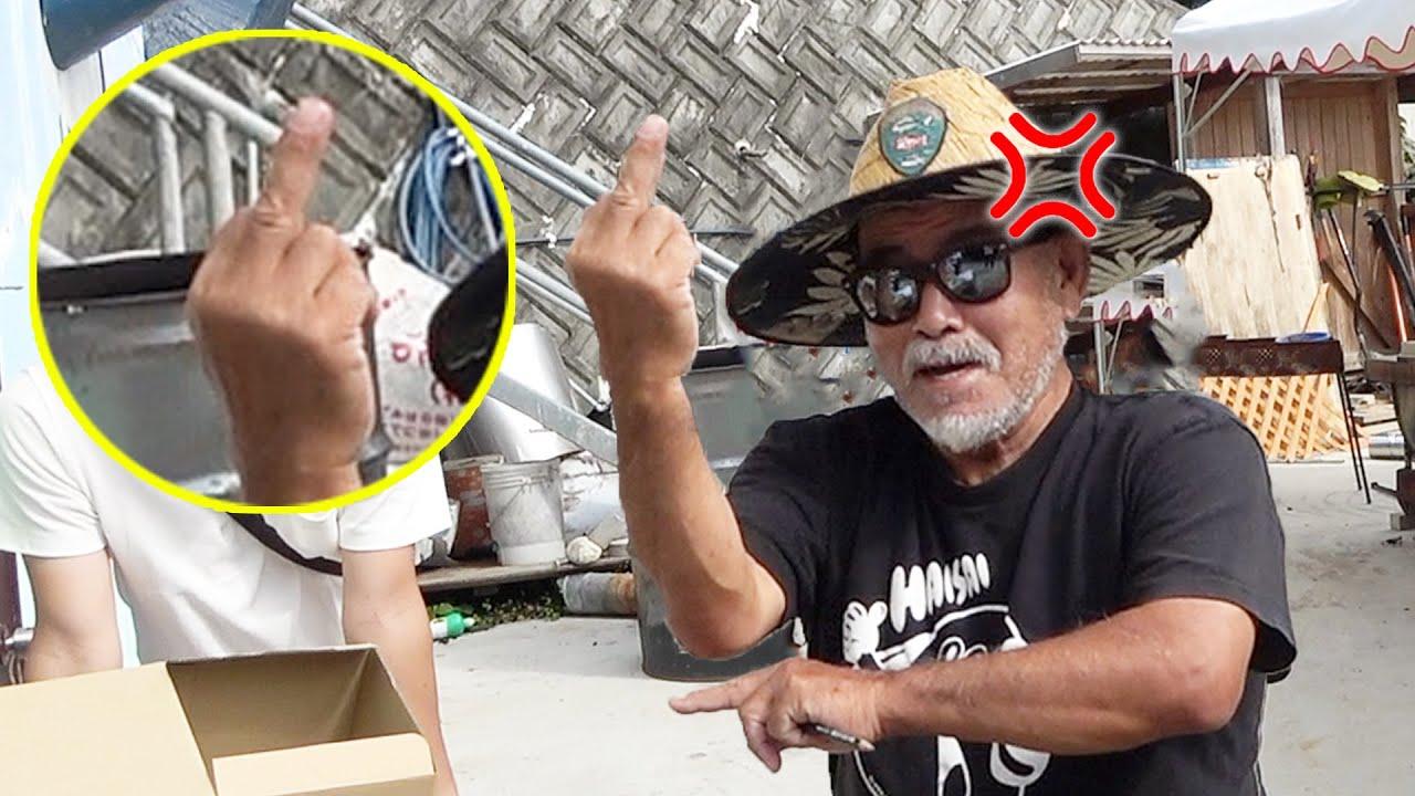 【放送事故】中指を立てる本当の意味を教えます