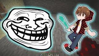 PRANKING BAJANCANADIAN (TROLL) Minecraft: SMP HOW TO MINECRAFT S2 #18 with JeromeASF