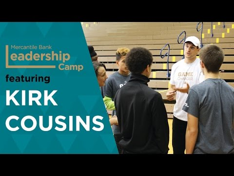 Leadership Camp - Mercantile Bank featuring Kirk Cousins