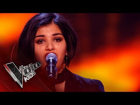 Persia Performs 'Habanera': Blinds 4 | The Voice Kids UK 2018