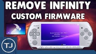 PSP Uninstall/Remove Infinity 6.61 Custom Firmware (CFW)