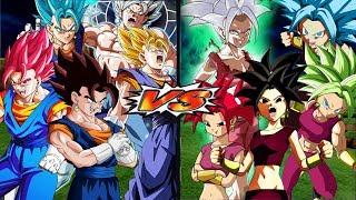 Vegetto All Forms VS Kefla All Forms   Dragon Ball Z Budokai Tenkaichi 3
