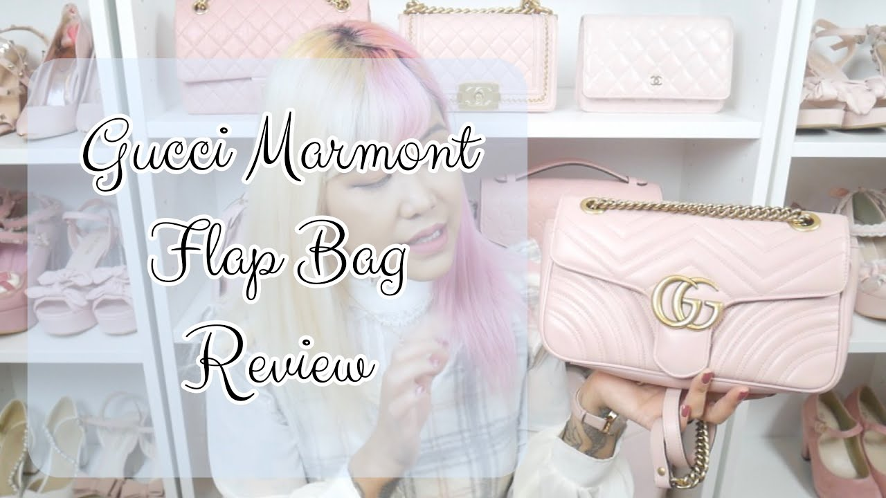 75f5ef0b903 ♡ GUCCI MARMONT FLAP REVIEW
