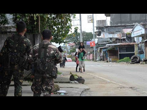 Government offensive intensifies in Marawi, Philippines