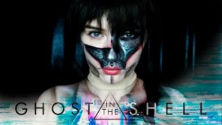 NYX Face Awards Russia GHOST IN THE SHELL - MAJOR MAKEUP TUTORIAL #FACEAWARDSRUSSIA2017