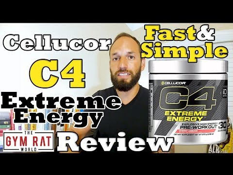 C4 Extreme Energy Pre Workout | Cellucor |  Supplement Review