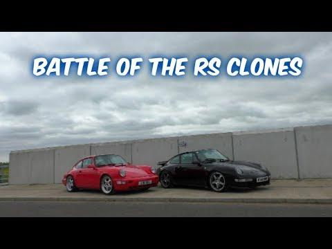 Porsche 964 RS VS Porsche 993 RS - Battle of the clones