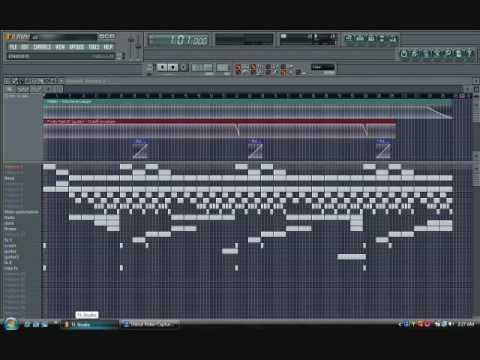 Akon-Beautiful (Instrumental) FL Sudio Remake