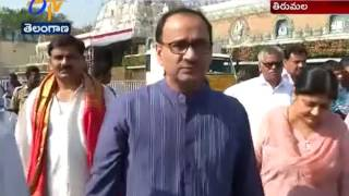 CBI Director Alok Verma Visits Tirumala