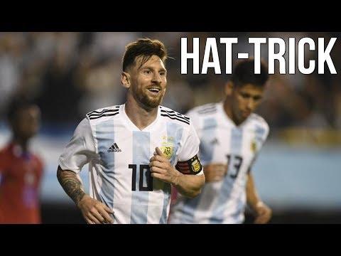 Arjantin 4-0 Haiti | Maç Özeti, Messi Hattrick | 30/05/2018 | Türkçe Spiker