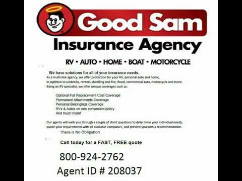 Good Sam Insurance Quote