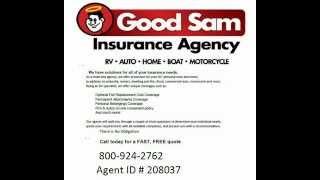 Good Sam Insurance Quote