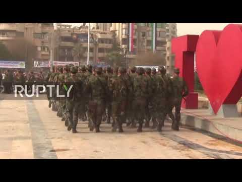 Syria: Aleppo commemorates one-year since city's recapture