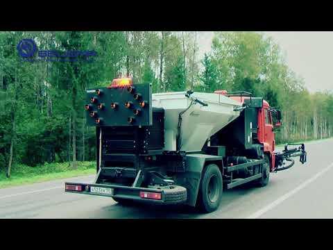 Дорожно-строительная техника видеопрезентация ЗАО БЕЦЕМА