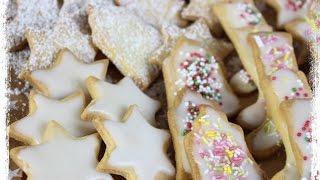 Butterplätzchen und Zuckerglasur selber machen ⛄BESTER KEKSTEIG DER WELT ⛄