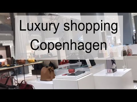 COPENHAGEN LUXURY SHOPPING VLOG 2018 | looking for my first luxury bag