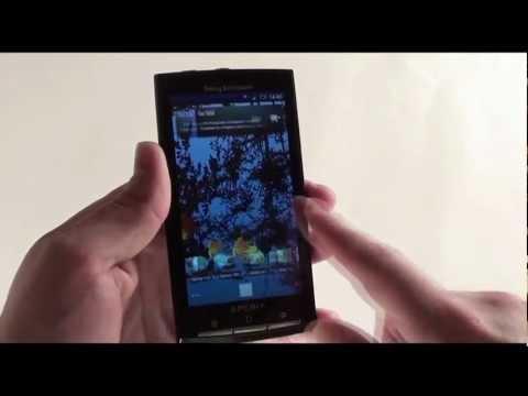 Sony Ericsson Xperia X10 - видеообзор ( x 10 ) от магазина Video-shoper.ru