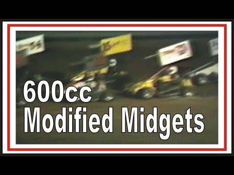 SIR Raceway 600cc Modified Midget Racing Cars