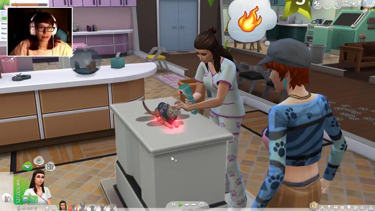 """[Archiwum] Live – The Sims 4 Psy i Koty! (3) – [1/2] – """"Wieczór kosmitów"""""""