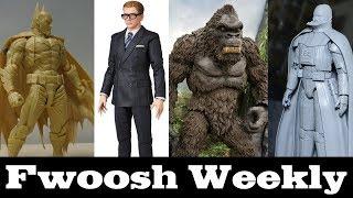Weekly! Amazing Yamaguchi Batman, MAFEX Eggsy, Star Wars Model Kits, Marvel Legends, and more!