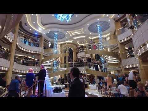 Majestic Princess Full ship Tour 2017 HD DJI Osmo 盛世公主号
