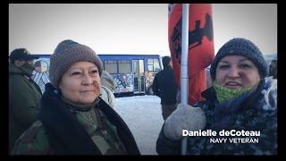 Nurses Stand with Vets for Standing Rock
