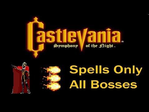 Castlevania SOTN - Alucard Sorcerer (Feiticeiro)