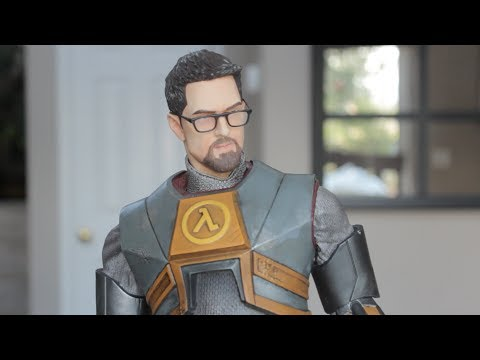 Half Life 2 Gordon Freeman Exclusive Statue Unboxing From Gaming Heads