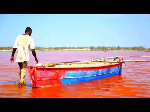 Lake Retba (Pink Lake), Senegal. _Documentary