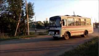 Buses in Kokshetau, Kazakhstan