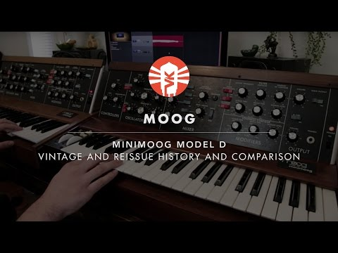 The MiniMoog Model D: A Historical Look And Modern Comparison