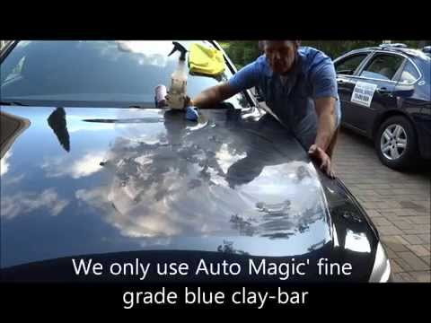 """How to remove Epoxy spray paint overspray 2014 BMW """"Auto Paint Overspray Removal of Texas"""""""
