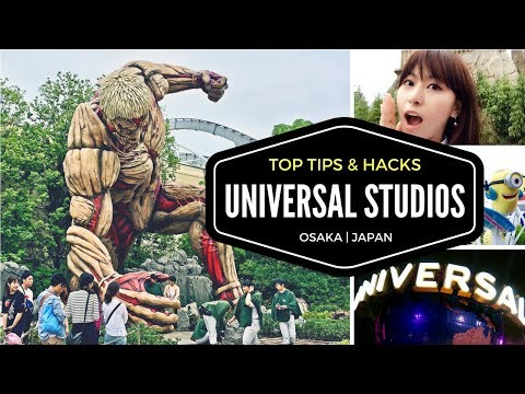 Guide to Universal Studios Japan - Top Tips and Hacks for USJ in Osaka | JAPAN TRAVEL GUIDE