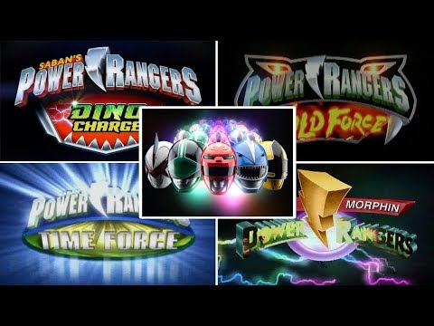 Top 10 Power Rangers Logo Animations | Power Rangers Opening Theme Songs | Superheroes