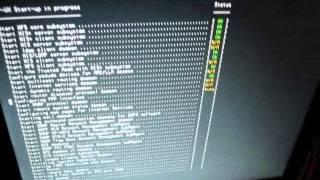 HP 9000 B2600 Booting HP UX (PA-RISC PA8600)!